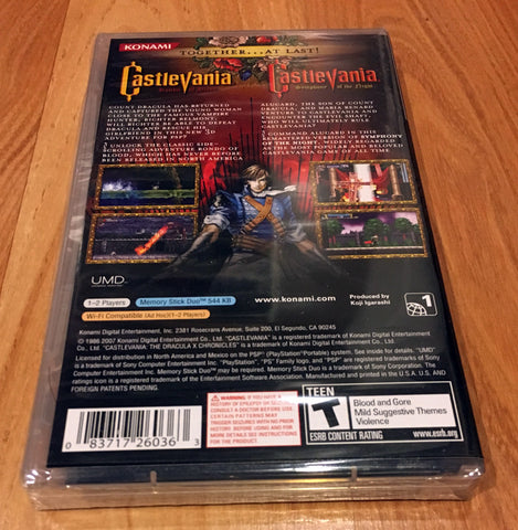 Castlevania: The Dracula X Chronicles for Sony PSP