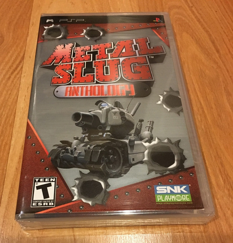 Metal Slug Anthology for Sony PSP (Brand New Sealed)
