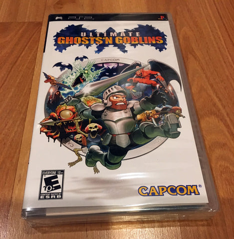 Ultimate Ghouls 'n Ghosts for Sony PSP (Brand New, Sealed)