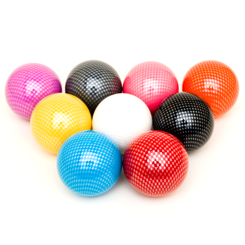 EX Gear 35mm SOLID Color Carbon Balltop