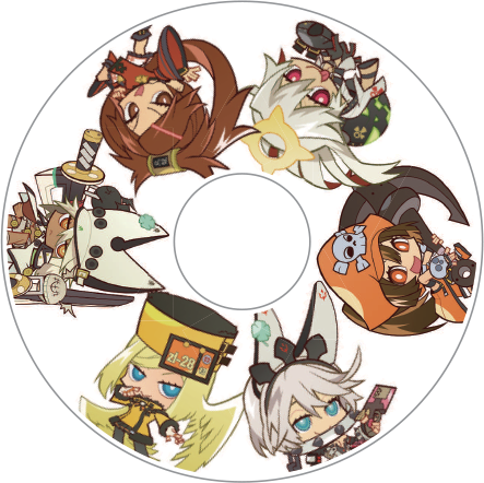 Guilty Gear Xrd: Revelator Dust Covers