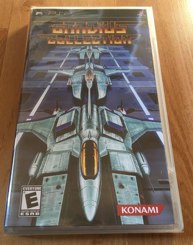 Gradius Collection for Sony PSP (Brand New, Sealed)