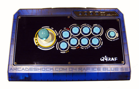 QanBa Q4 ICE BLUE SE (All Seimitsu Parts) Joystick