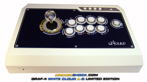Qanba Q4 PS3/XBOX360 [WHITE CLOUD SA] - AS|REYNALD Joystick