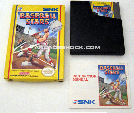 Baseball Stars Nintendo Entertainment System (Brand New - Complete)