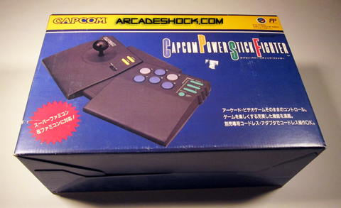 Capcom Power Stick Fighter (Brand New) Made in Japan