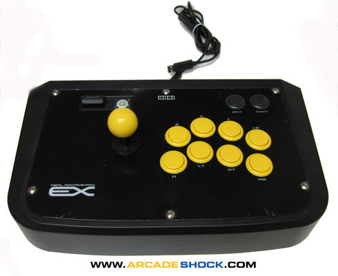 HORI Real Arcade Pro EX (Custom - Sanwa Parts) Xbox 360 YELLOW FEVER