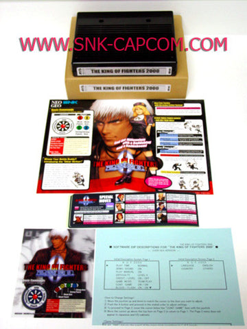 SNK NEO•GEO MVS King of Fighters 2000 Full Kit (w/English Mini Marquee)