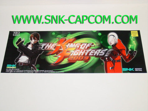 King of Fighters 2003 Large Marquee