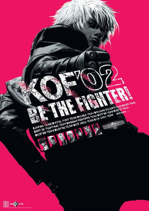 King of Fighters 2002 Poster