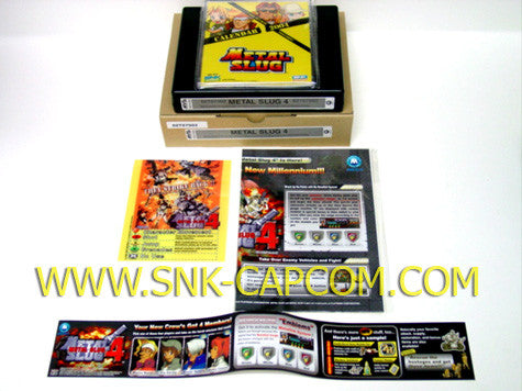 SNK NEO•GEO MVS Metal Slug 4 Kit Super Pack
