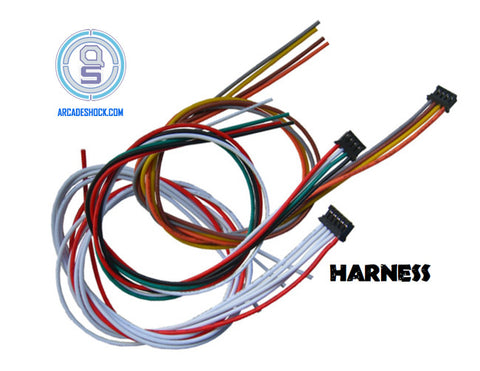 Akishop PS360+ Expansion Harnesses 3 Pack