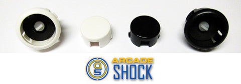 Sanwa Denshi (30mm) Solid Color SILENT Pushbutton ( OBSFS30 - XX )