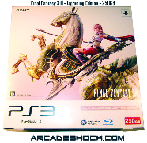 Sony PS3 Final Fantasy XIII Lightning Edition System 250GB
