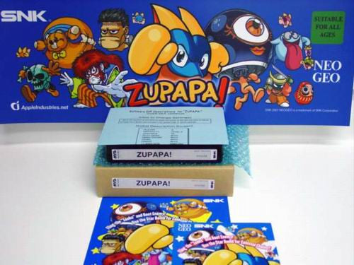 SNK NEO•GEO MVS Zupapa Kit (w/Large Marquee)