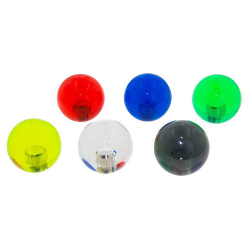 Sanwa Denshi CLEAR SERIES BALL TOP [ LB35 - C - XX]