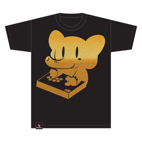 SANWA DENSHI ELEPHANT MASHER TEE (METALLIC GOLD)