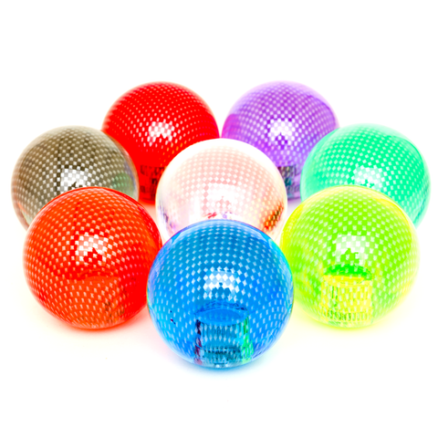 EX Gear 35mm CLEAR Color Carbon (Mesh) BALL TOP