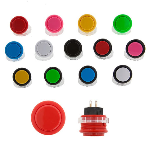 Seimitsu PS-14-DN Solid Color Pushbutton [24mm - Screw On]