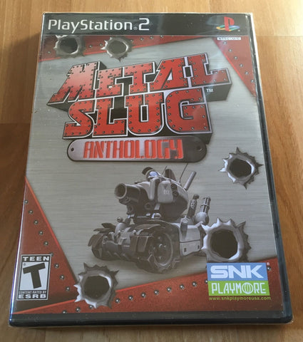 Metal Slug Anthology for Sony PS2 (Brand New Sealed)