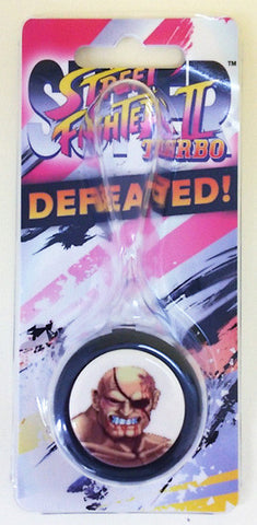 Super Street Fighter II Turbo Defeated Sanwa Denshi PUSHBUTTON