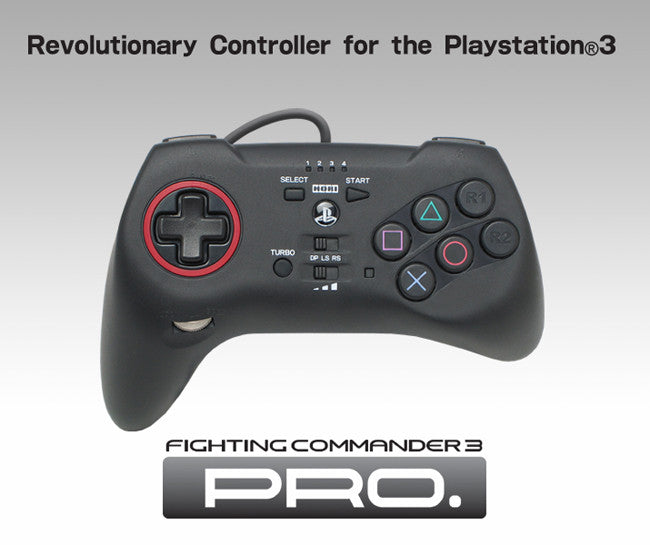 Hori Fighting Commander 3 Game Pad (PS3) (OOP)