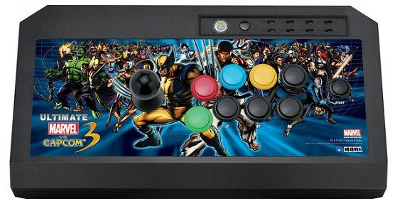 HORI Ultimate Marvel v. Capcom 3 Fighting Stick  Xbox 360 (Limited Edition) Arcade Stick [CLEARANCE]