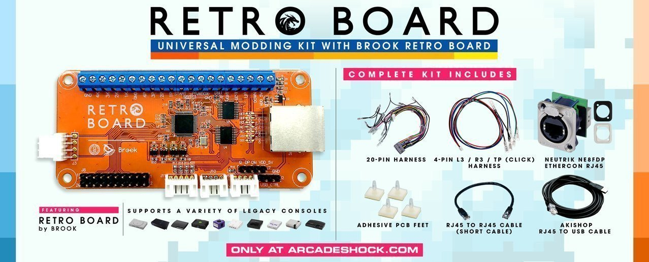 Brook PS4/PS3 to NEO GEO Converter