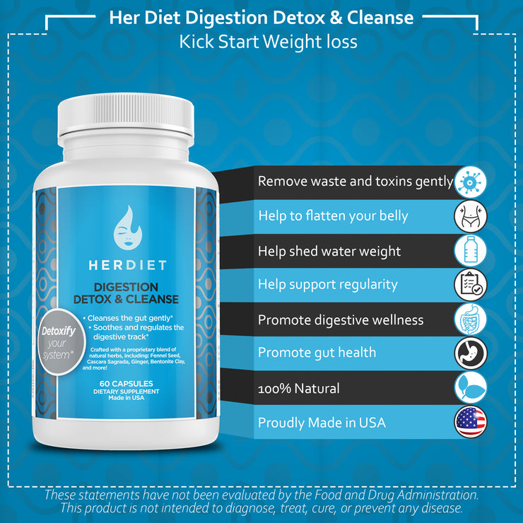 Her Diet Digestion and Detox Cleanse