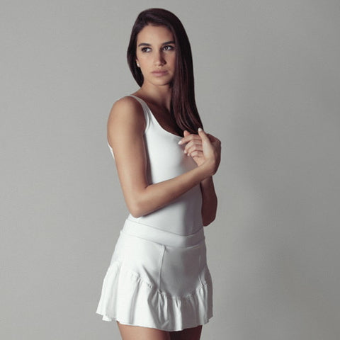Tennis Skort with Ruffles