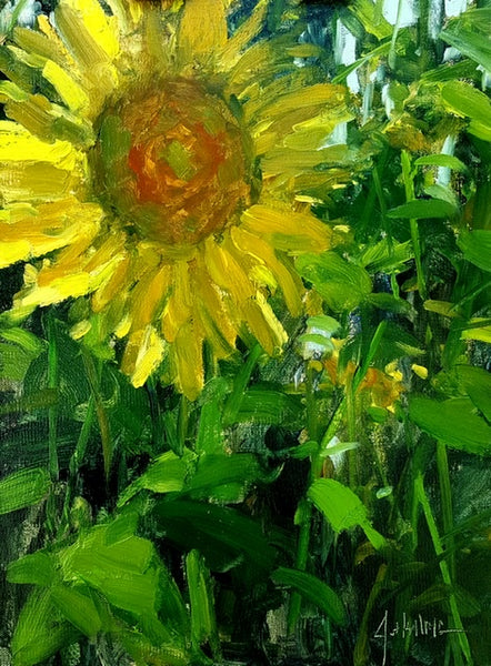 """Our First Sunflower"" by Jonathan McPhillips"