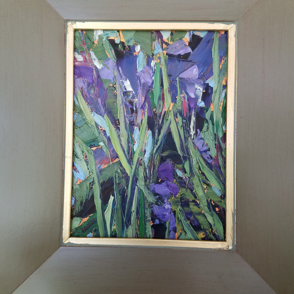 Behold the Irises by Cynthia Rosen