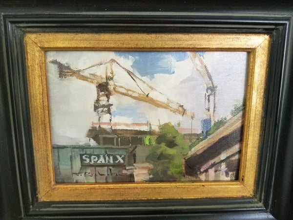 Spanx and Crane by Jim Richards
