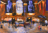 """Grand Central Afternoon Color Study No. 2""  by Celeste McCollough"
