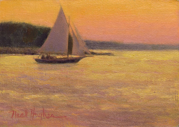 """Sunset Sail""  by Neal Hughes"