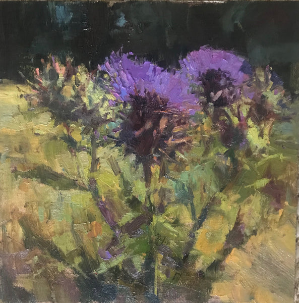 """Thistle"" by Valerie Craig"
