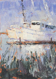 """Georgetown Shrimpers  Color Study #2""  by Celeste McCollough"