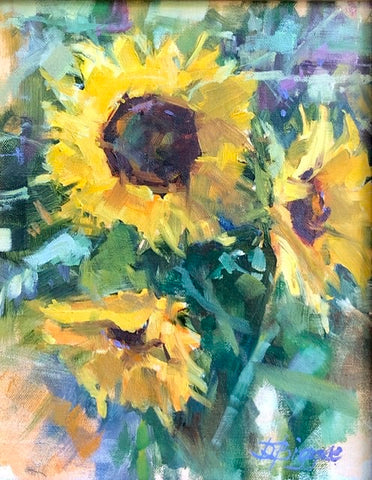 """Sunflowers"" by Donna Biggee"