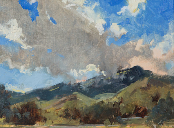 """Mountain Shadows"" by Suzie Greer Baker"