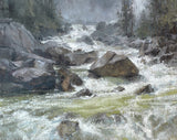 """Base of Lower Falls, Yosemite National Park"" by Suzie Baker"