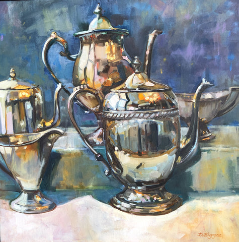"""Silver Service"" by Donna Biggee"