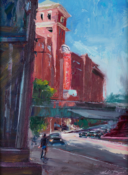 """Ponce City Market in Blue"" by Michele Byrne"