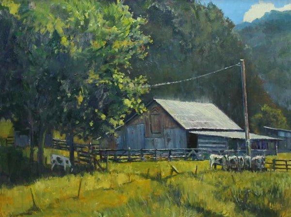 """Mountain Valley Farm"" by Ed Cahill"
