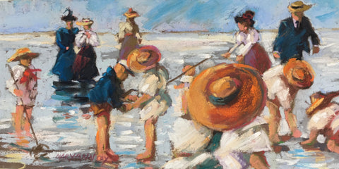 """A Day at the Beach"" by Mary Ann Cox"