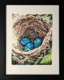 """Three in the Nest"" by  Lamar Gilstrap"