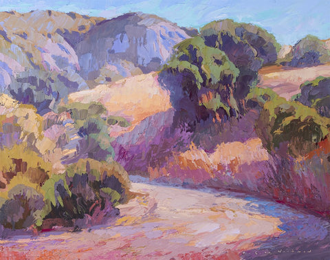 """Late Afternoon in Laguna Canyon"" by Carole Gray-Weihman"