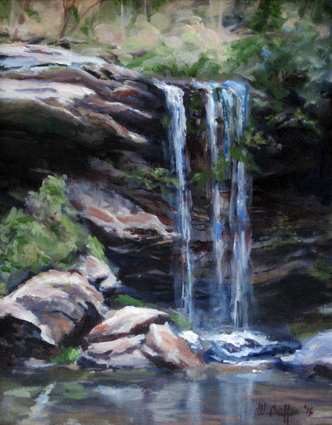 """Deer Leap Falls"" by Warren Griffin"