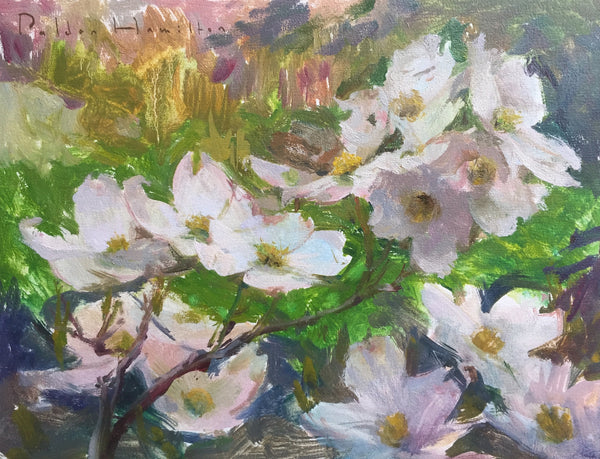 """Dogwood Blossoms"" by Palden Hamilton"