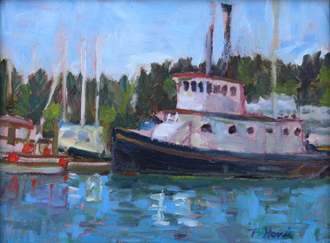"""Eagle Harbor"" by Theresa Harris"