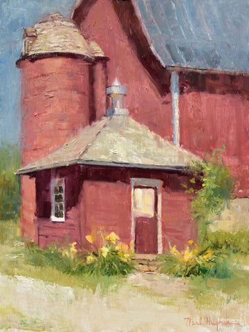 """Orchard Barn"" by Neal Hughes"